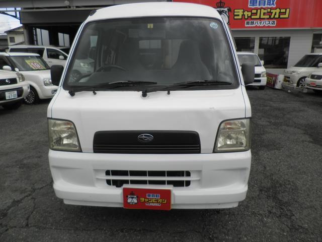 「スバル」「サンバーバン」「軽自動車」「佐賀県」の中古車