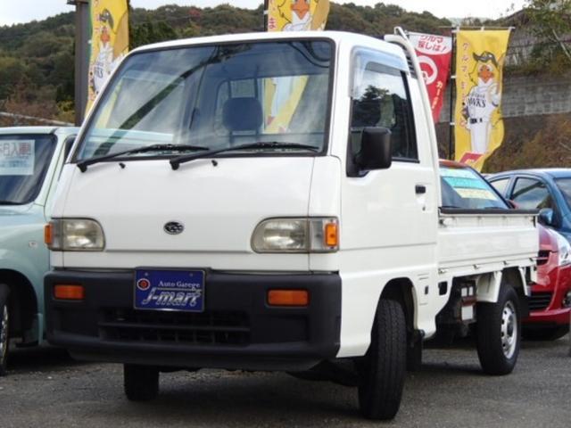スバル 4WD 5速MT エアコン
