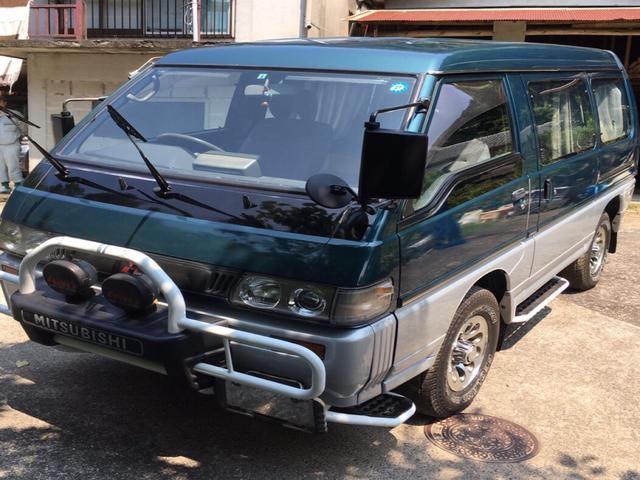 三菱 GLX スライドドア 4WD AC ターボ AT