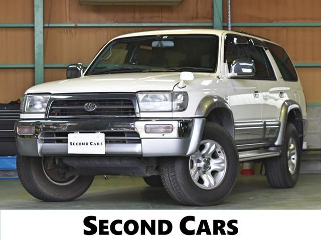 トヨタ ハイラックスサーフ SSR-Vリミテッド ワイド クラリオンナビ フルセグテレビ バックモニター Bluetooth ドライブレコーダー 16インチアルミホイール シートカバー