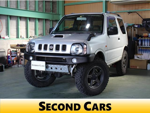 スズキ XC タイヤ4本新品交換渡し リモコンキー 社外オーディオ 16インチアルミホイール 4WD