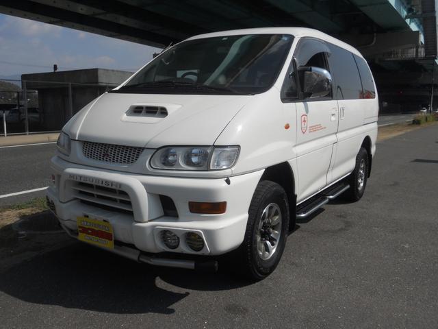 三菱 シャモニー 4WD ディーゼル 軽油 片側スライド アルミ