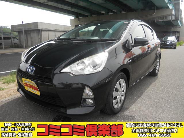 トヨタ アクア S HDDナビ バックカメラ TV スマートキー プッシュスタート ワンセグTV