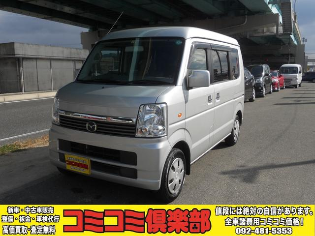 マツダ スクラムワゴン PX ナビ CD再生 キーレス フラットシート