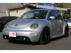 VW ニュービートルベースグレード イカリングヘッドライト CD キーレス