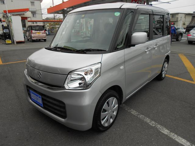スズキ G/デュアルカメラサポート装着車 走行34850キロ/SDナビ/ETC/スマートキー/シートヒーター/禁煙車