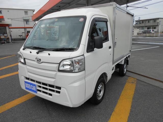 ダイハツ パネルバン 走行15890キロ/カラー鋼板簡易保冷車/H29年式/禁煙車