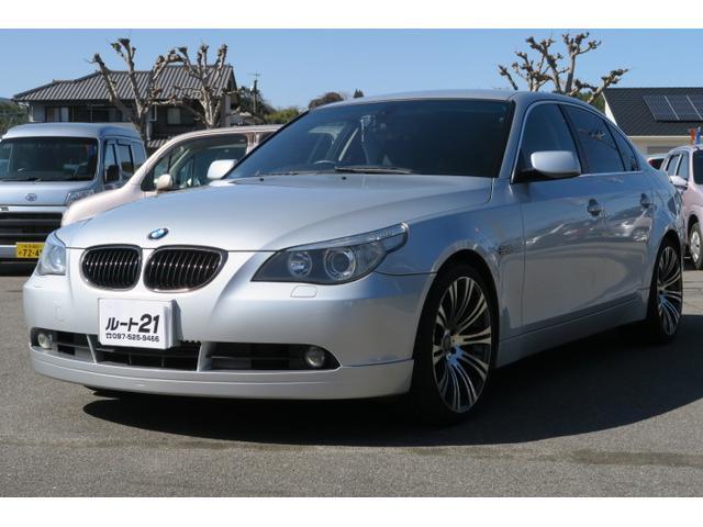 BMW 525i 本革パワーシート HDDナビ 純正19AW