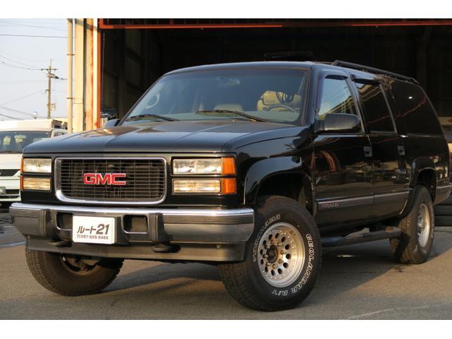 GMCサバーバン ベースグレード デフロック付き4WD キーレス 本革パワーシート CD シートヒーター 社外16AW 記録簿