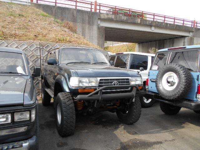 トヨタ ランドクルーザー80 VXリミテッド ディーゼルターボ 4WD 前後デフロック付き サンルーフ