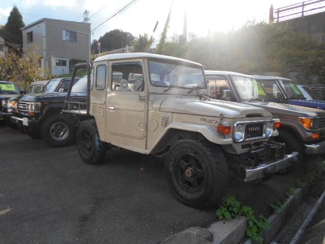 ランドクルーザー40(トヨタ) 観音開 LX 5MT クーラー パワステ 中古車画像