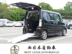 N BOX+カスタムG福祉車両スローパー ナビ TV DVD BT