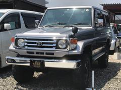 ランドクルーザー70LX 4WD ディーゼル SDナビ フルセグ 社外AW