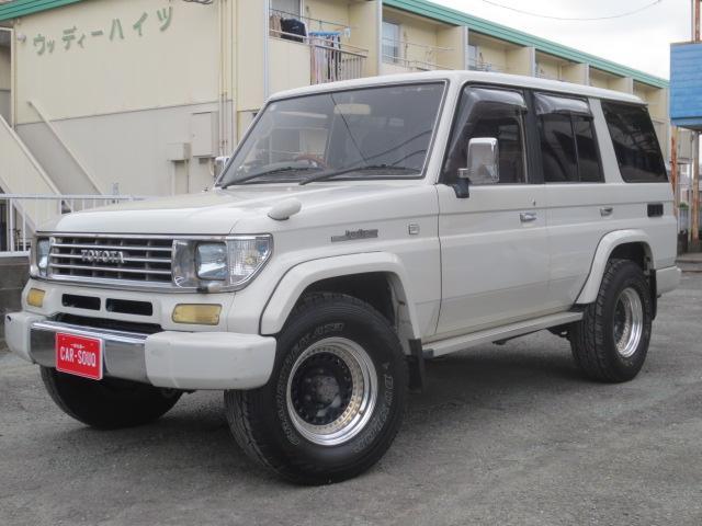 トヨタ SXワイドリミテッド パールホワイト HDDナビ 社外HID