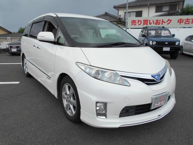 トヨタ エスティマハイブリッド X 2ndシートリフトUP仕様 禁煙車