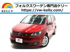 VW ゴルフトゥーランハイライン ナビ フルセグTV 後席モニター 無料1年保証