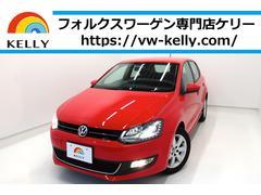 VW ポロハイライン ハーフレザーシート HIDライト 無料1年保証