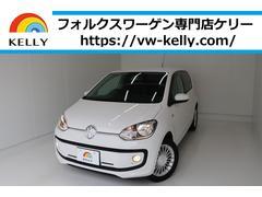 VW アップ!ハイアップ シートヒーター 自動ブレーキ フォグ 1年保証