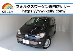 VW アップ!ハイアップ ナビTV シートヒーター 自動ブレーキ 1年保証