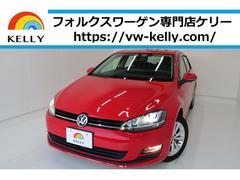 VW ゴルフコンフォートライン ワンオーナー BカメラナビTV 1年保証