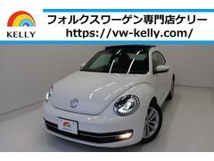 VW ザ・ビートルデザインレザーパッケージ サンルーフ ナビTV 1年保証