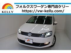VW シャランコンフォートライン ワンオーナー ナビTV 天井モニター
