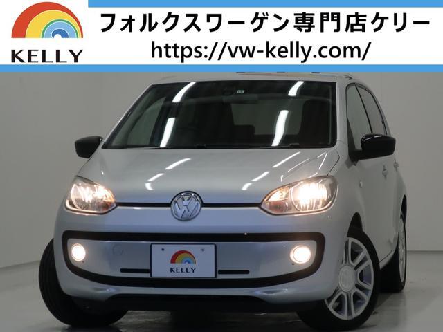 フォルクスワーゲン オレンジ アップ! 1000台限定車/社外ナビTV/ETC