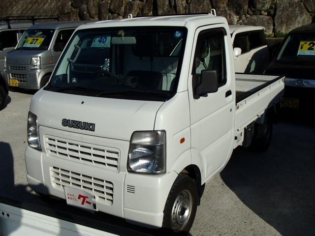 スズキ キャリイトラック KCエアコン・パワステ 4WD 5速MT ライトレベライザー