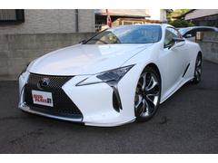 LC LC500 Lパッケージ セミアニリン本革 寒冷地仕様