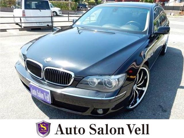 BMW 750i HDDナビ サンルーフ 黒革シート