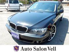 BMW750i HDDナビ サンルーフ 黒革シート