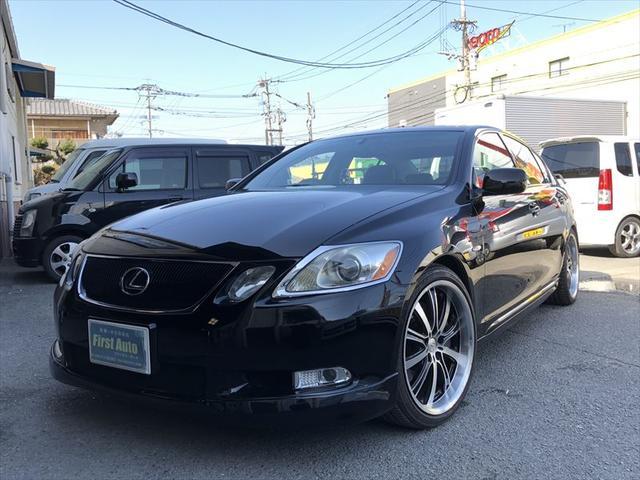 レクサス GS430 SR 黒革 マルチ 車高調 19AW