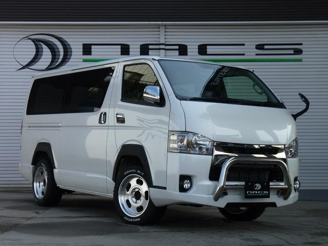 トヨタ ダークプライム 4ナンバー8人乗りリフトアップ展示デモカー
