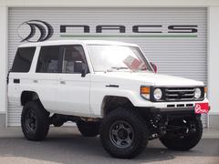 ランドクルーザー70ZX 4ナンバー登録車/ディーゼル・4WD/純正5速MT/リフトアップ公認/サンルーフ/社外ナビ/バックカメラ/ドライブレコーダー/LEDヘッドライトバルブ/社外16インチAW/NARDIステアリング