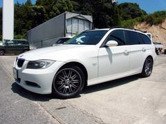 BMW320iツーリング メモリーナビ 純正18インチアルミ