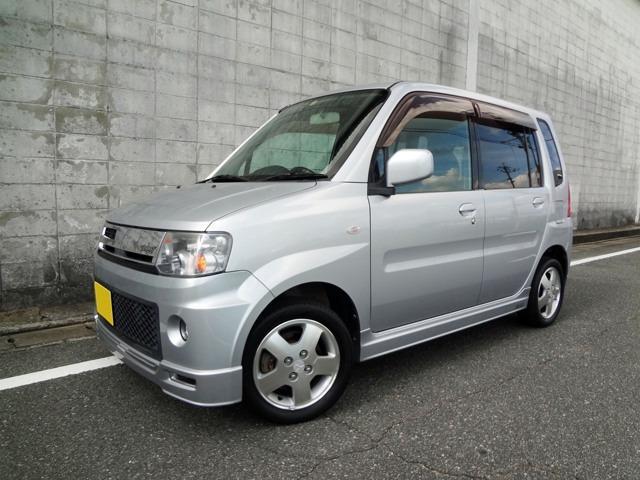 三菱 ローデストT エアロ HDDナビ ターボ