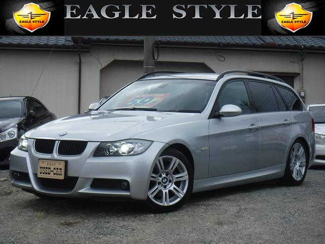 BMW 320iツーリングMスポーツパッケージ・D車・社外SDナビ・