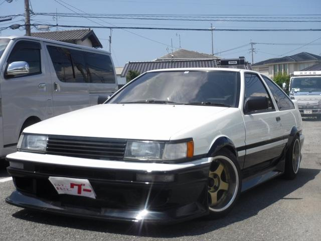 トヨタ AE86 MT5速 エンジン載替 車高調 アルミ エアロ