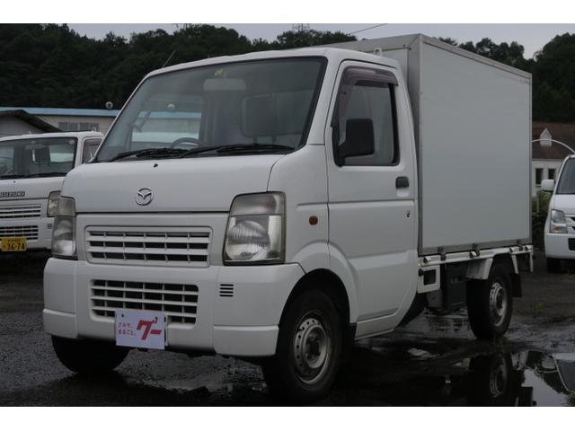 マツダ スクラムトラック 4WD 移動販売車 ラジオ