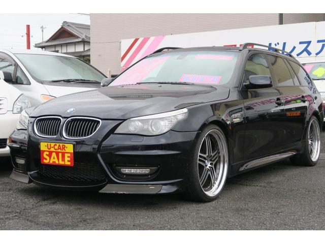 BMW 530iツーリング 純正ナビ TV バックモニター