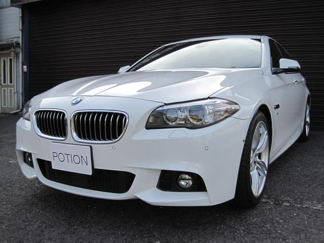 BMW 523i Mスポーツ 黒革シート アラウンドビューモニター