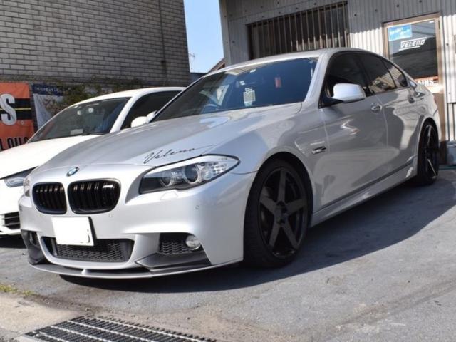 BMW 523iMスポーツパッケージ 社外ディフューザー サンルーフ