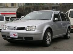 VW ゴルフワゴンGLi オートAC 本革シート キーレス 純正16AW