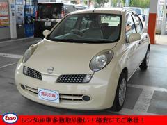 マーチ12E キーレス CD ETC 電動格納ミラー レンタUP