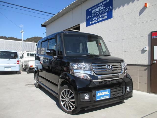 ホンダ N-BOXカスタム G・ターボAパッケージ 4WD
