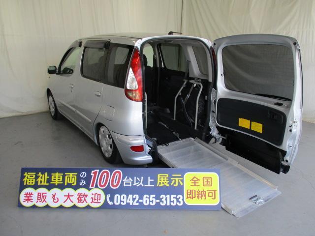 トヨタ ファンカーゴ スロープ1台積5人乗り 福祉車両