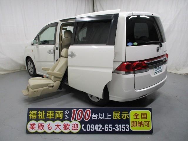 ホンダ サイドリフトアップシート7人乗り 福祉車両 一年保証