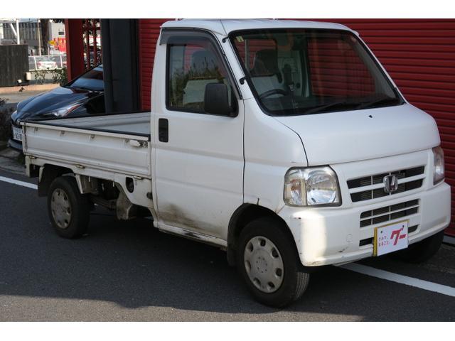 ホンダ アタック 4WD CD 三方開き 荷台ガード 作業灯