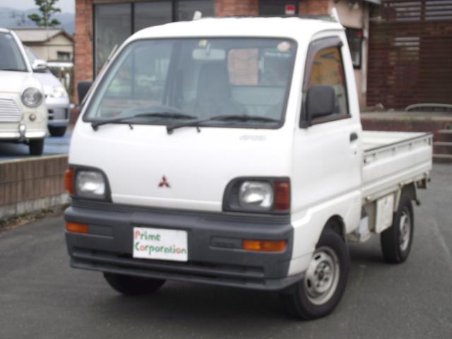 三菱 Vタイプ 走行3.2万km 4WD MT エアコン