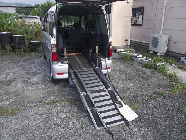 ダイハツ アトレーワゴン CX ハイルーフ4wd 電動フックウインチ 車いすスローパー 走行4.7万km 3名乗車リアシート無し